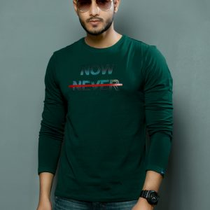 Full Sleeve Cotton T-Shirt