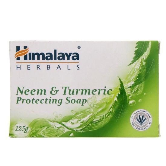 Himalaya Herbals Neem & Turmeric Protecting Soap-(Made In Uae)