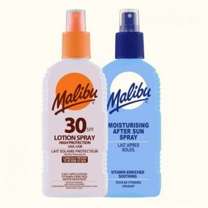 Malibu Spf 30 Lotion Spray/ Moisturizing After Sun Spray