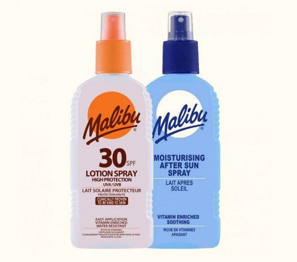 Malibu Spf 30 Lotion Spray/ Moisturizing After Sun Spray