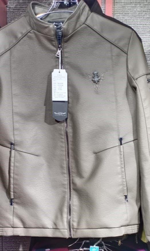 Men's Artificial Leather Jacket