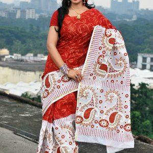 Skin botiques cotton Boishakhi Saree