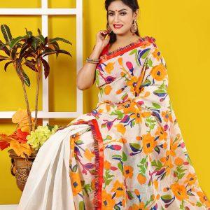 Cotton Boutiques Saree for Woman