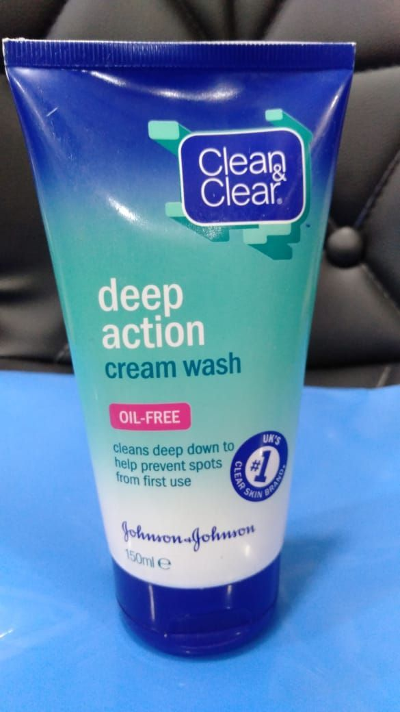 Clean And Clear Deep Action Cream Wash